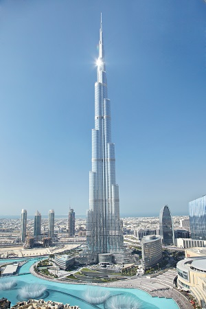 Facts & Figures about the Burj Khalifa